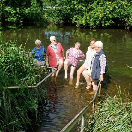 Wassertreten @ Kurpark Bad Bevensen